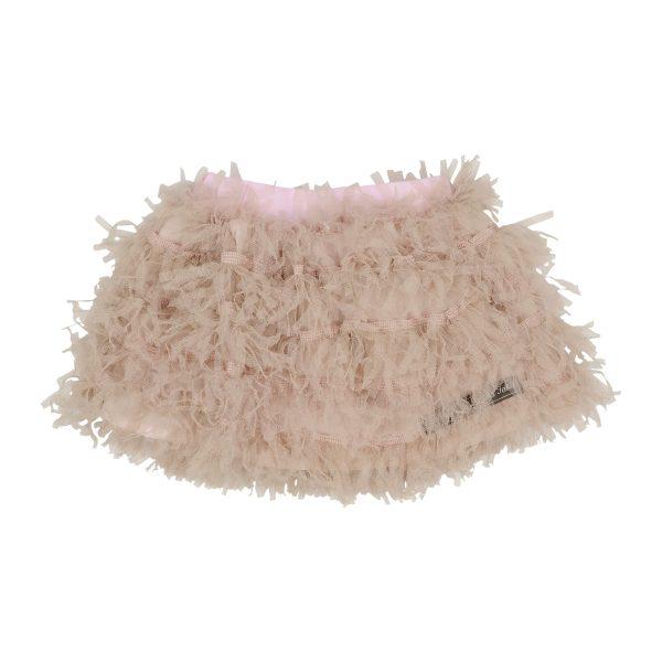 fluffy rip tuel skirt