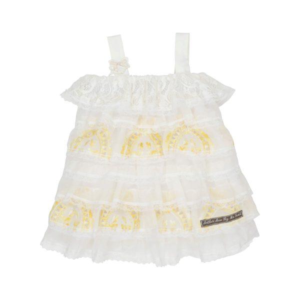 lace layered summer dress