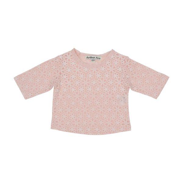 pink delicate under top