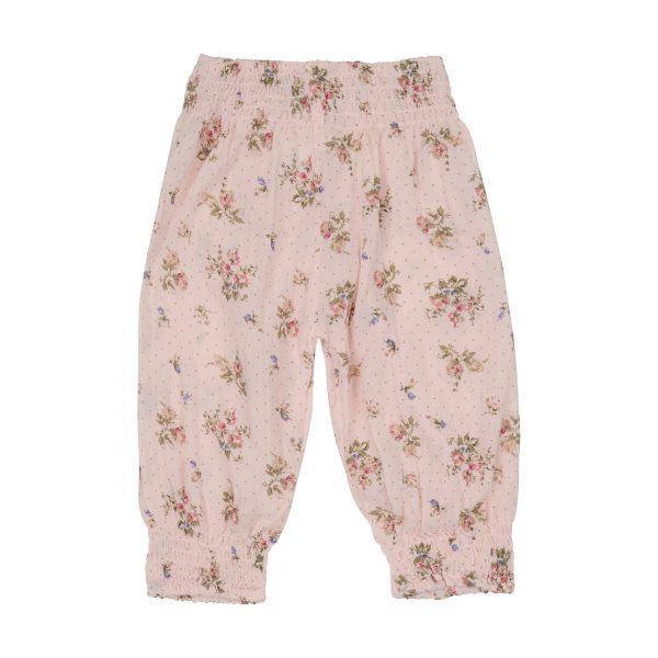 pink floral gypsy pants