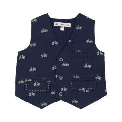 Bike navy waist coat