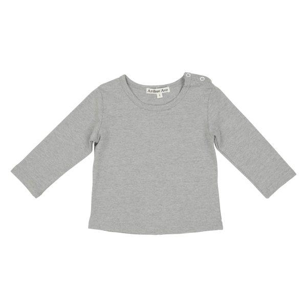 Grey basic under top