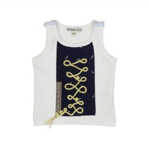 navy pirate top