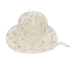 Cream Floppy Hat