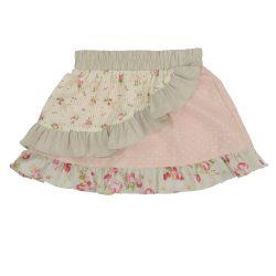 Cream Frill Skirt