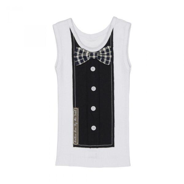 Black Bowtie Vest