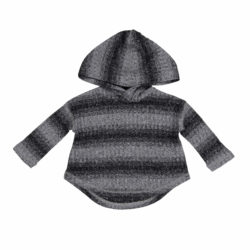 Grey Hoodie Top