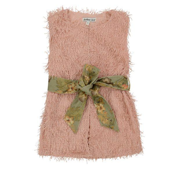 Pink Tassel Vest'