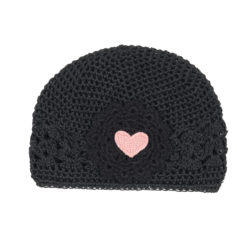 Black Heart Soft Hat