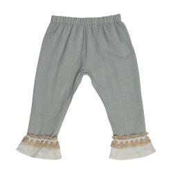 Lace Cuff Pants