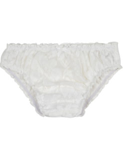 Milk White Lace Knickers