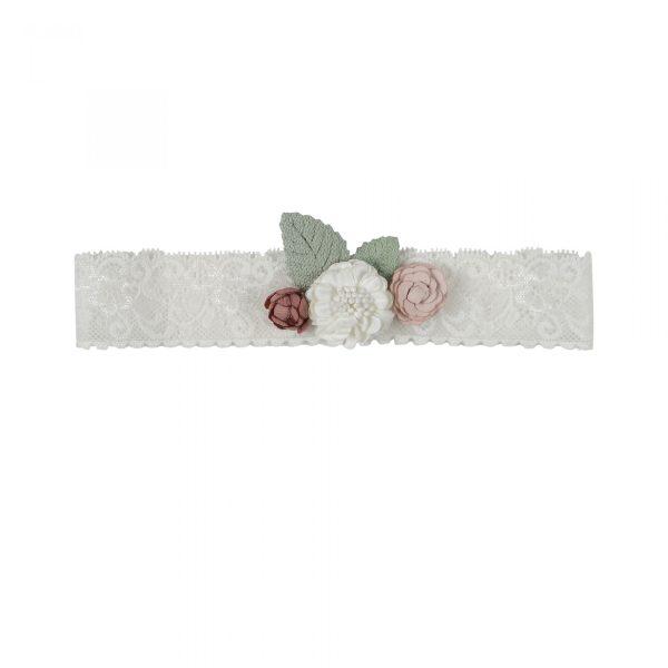 White Center Flower Headpiece