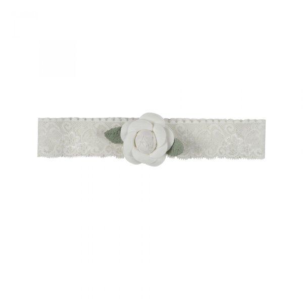 White Rose Large Headpiece