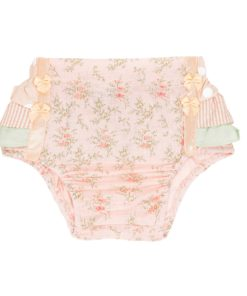 Pretty In Pink Frilly Bums Back