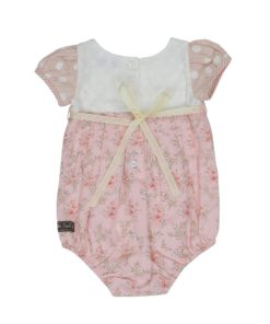 Pretty In Pink Playsuit Back