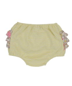 Mustard Frilly Bum Front